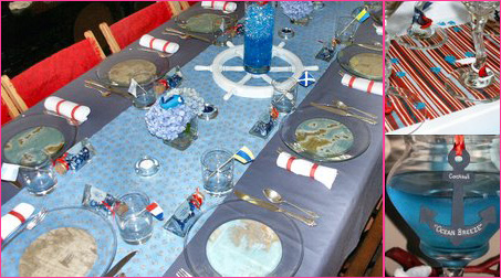 Celebrations at Home Nautical Baby Shower