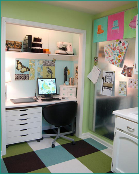 Closet to Office