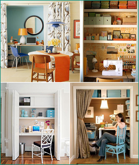 Closet office design ideas woodworktips Closet home office design ideas