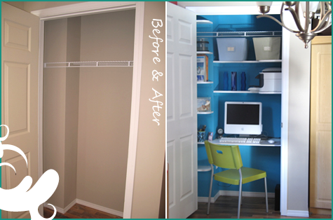 Closet to Office!
