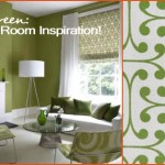 Green Living Room Inspiration!