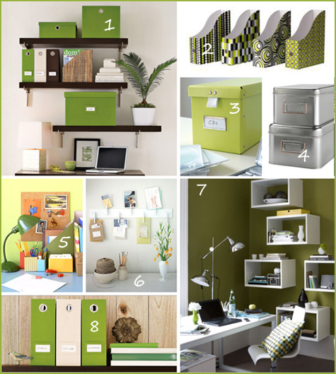 Green With Envy Office Inspiration