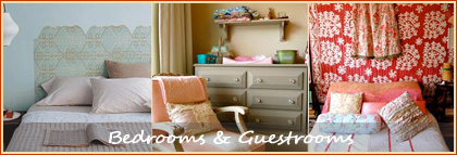 Decorating Inspiration for Bedrooms & Guestrooms