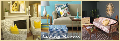 Decorating Inspiration for Living Rooms