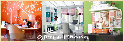Decorating Inspiration for Offices & Libraries