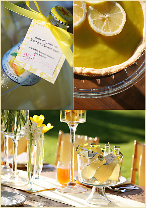 Lemon Yellow Party Inspiration