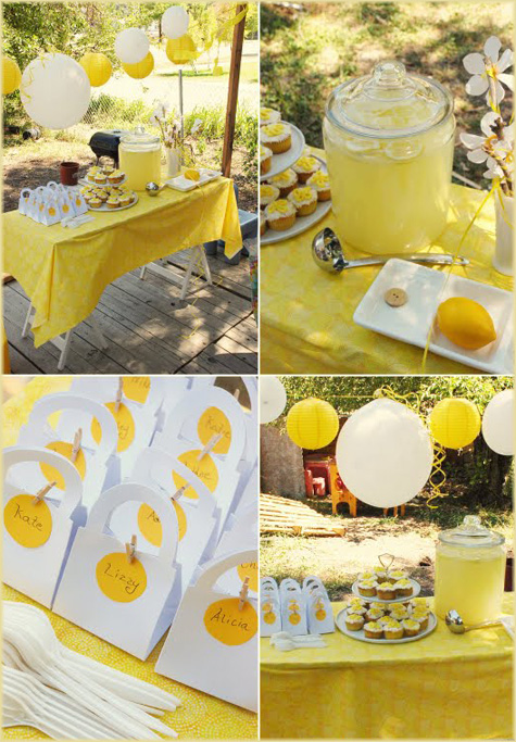 Lemon Yellow Party Inspiration 2