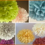 DIY: Vibrant Party Tissue Poms