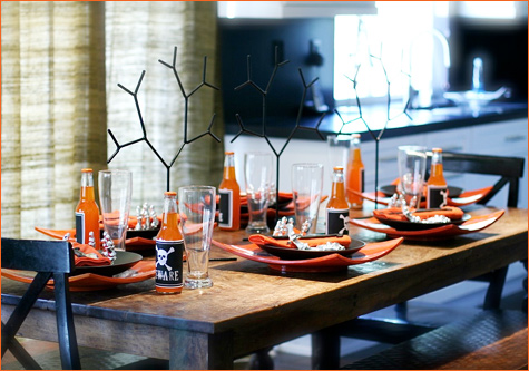 Halloween Tablescape 3