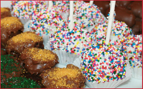 Brownie Pops 4