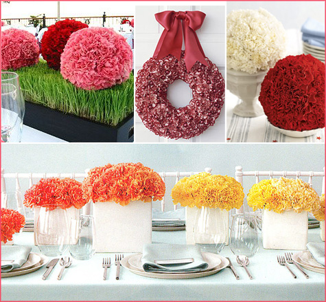 Carnation Ball Centerpiece 2