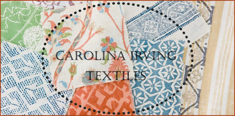 Carolina Irving: Fabric of the Week