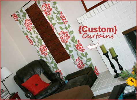 Custom Curtains: Graphic Design