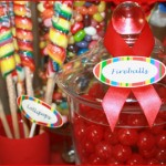 Colorful Candy Buffet!