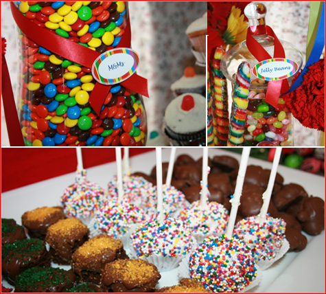 Colorful Candy Buffet 4