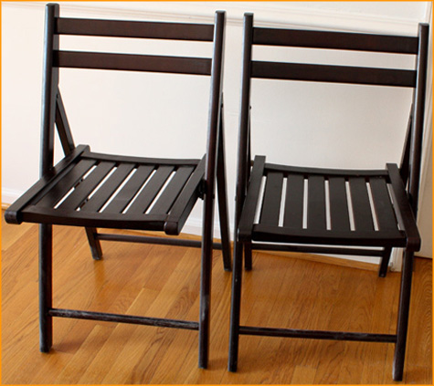 Before & After: Fabric Folding Chair 2