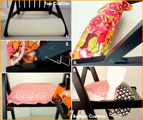 Before & After: Folding Chairs