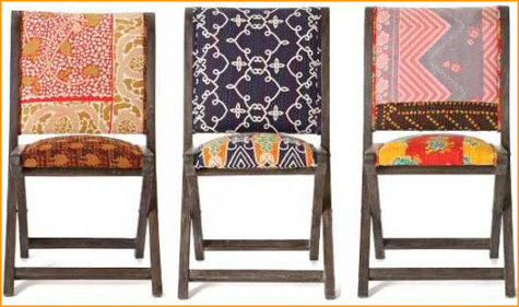 Before & After: Anthropologie Fabric Folding Chair