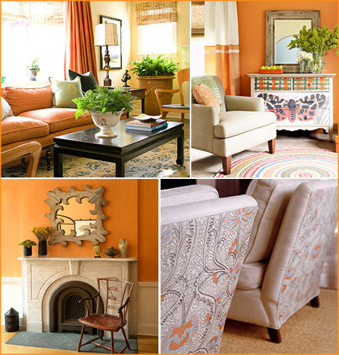 How About Orange? Orange Home Inspiration