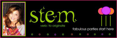 Friday Guest Blog: Amy of Stem Parties!