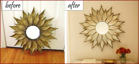 DIY Before & After Mirror 2