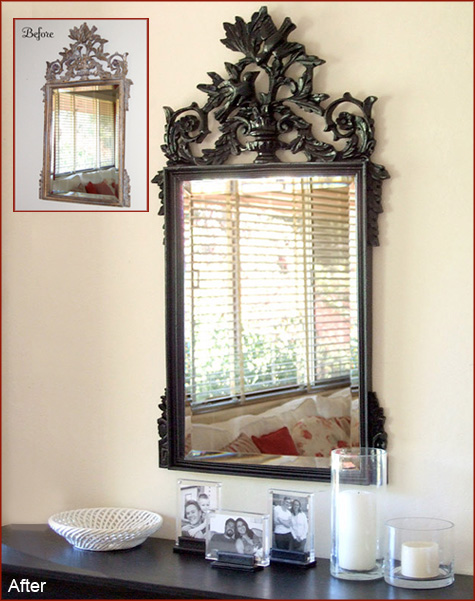 Before & After: Mirror