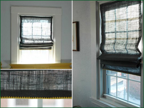 DIY Roman Shades Window 6