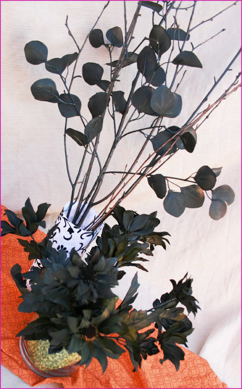 Halloween Dead Floral Arrangements