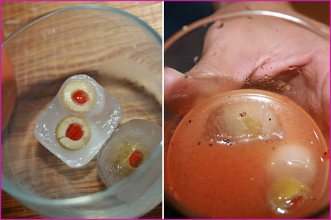 Halloween Inspiration: Eyeball Icecubes