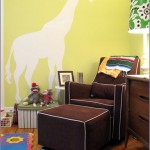 Polka Dots, Giraffes & Feathers... Fun Kids Rooms!