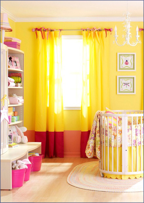 Kid's Room Inspiration Nursery Girl's 10