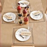 Creative DIY Kids Table Thanksgiving