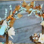 A Vintage Turquoise & Orange Thanksgiving