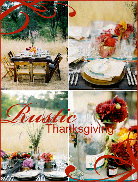 Rustic Thanksgiving Inspiration in Rich Colors November 17 2009