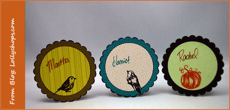 DIY Thanksgiving Placecards 4