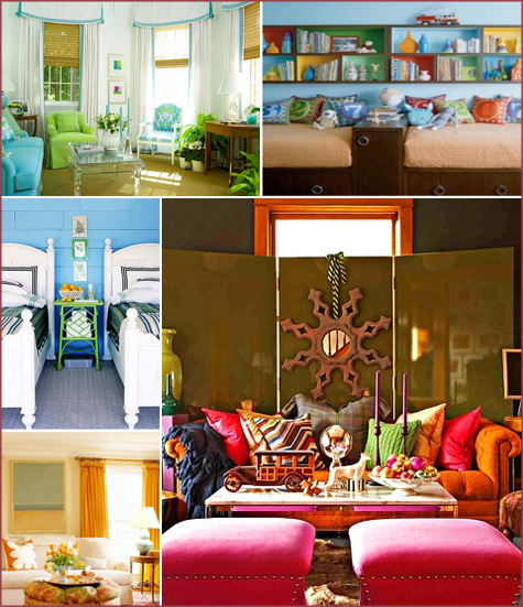 Bright Colorful Room Inspiration 5