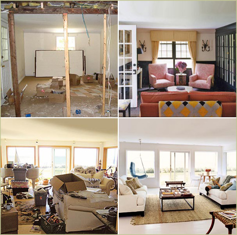 Before & After Living Rooms Habitat Hanalei 2