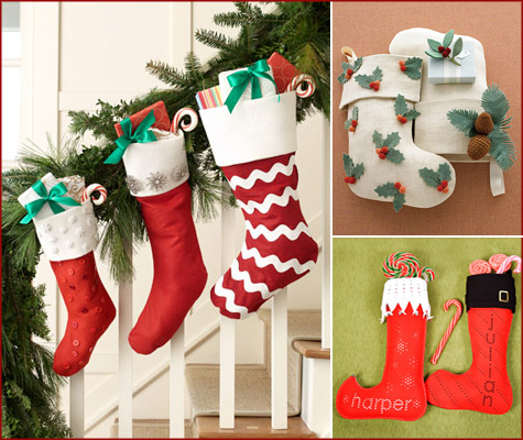 Handmade Christmas Stockings Main
