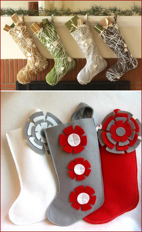 Handmade Christmas Stockings 10