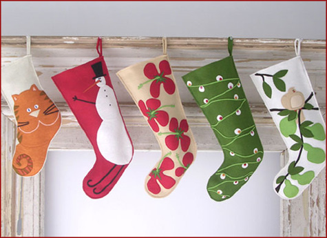 Handmade Stocking Inspiration
