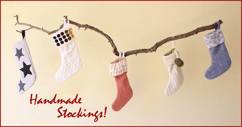 Handmade Stocking Inspiration: Main