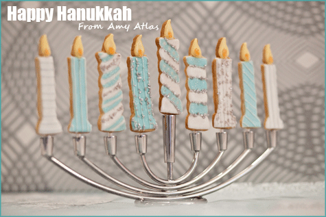 Hanukkah Cookie Menorah Amy Atlas