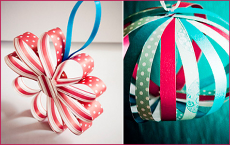 diy paper ornaments - Paper Christmas Decorations To Make At Home