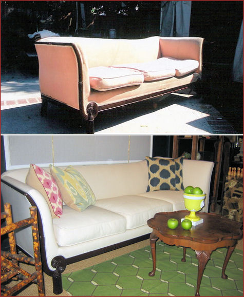 Ruthie Sommers Reupholstery: Couch
