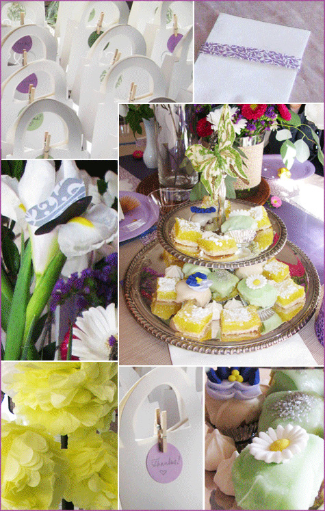 Celebrating with a Lavender & Lime Baby Shower - Pepper Design Blog