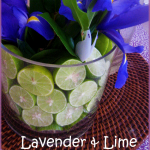 Lavender and Lime Baby Shower