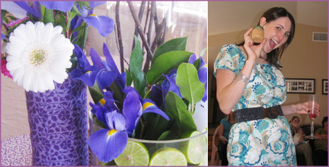 Lavender & Lime, Purple & Green Baby Shower 5