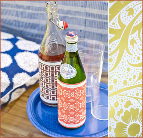 Creative / DIY Champagne & Wine Bottle Wrappers