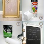 Before & After: Chalkboard Frame