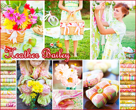 Favorite Fabrics - Heather Bailey